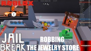 Roblox: JailBreak: NEW UPDATE Motorcycles and JEWELRY STORE ROBBERY