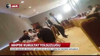 MHP Kurultayı'ndan şok görüntüler. 2017 Video