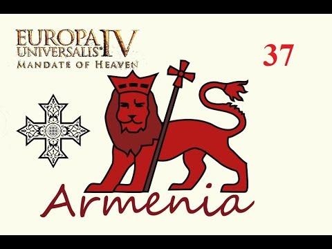 🍄Expedición a Indonesia y LA GUERRA | EU4: Mandate of Heaven | Armenia |  #37