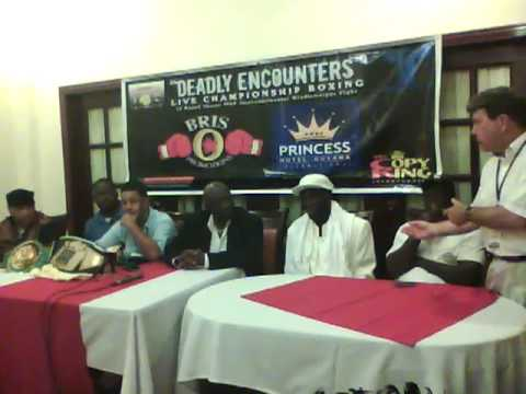 hector camacho jr guyana post fight press conference