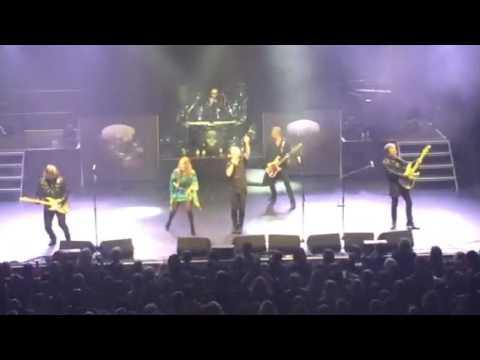THUNDER & LYNNE JACKAMAN She Likes Athe Cocaine London Hammersmith Odeon 28/03/17
