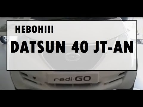 HEBOH! Datsun Redi Go Harga 40 Jutaan