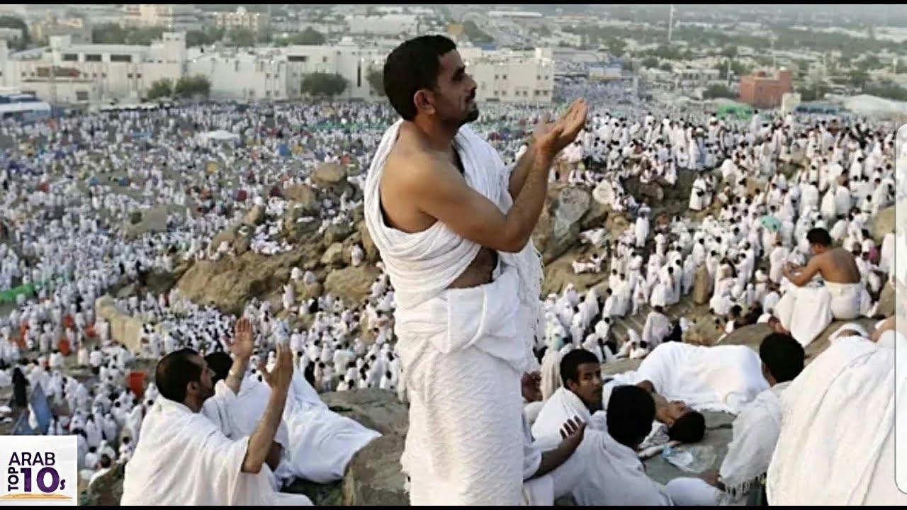 موسم الحج 2018، لقطات ومقاطع فيديو لما يحدث للحجاج بين عرفات ومنى ..!!