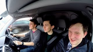 Driving a Van Through London