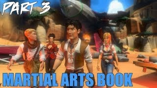 "Jack Keane 2 The Fire Within Walkthrough Part 3 ""Martial Arts Book"" Gameplay Playthrough PC"