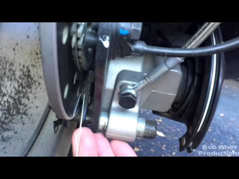 How to inspect your Spyder's brake pads