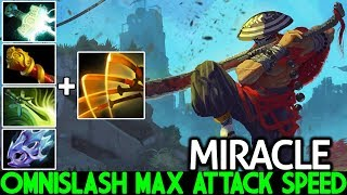 Miracle- [Juggernaut] Unreal Comeback Omnislash Max Attack Speed 7.21 Dota 2