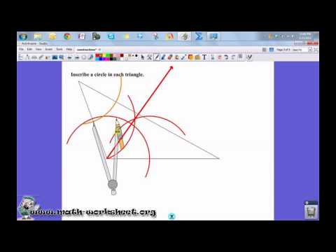 Bisectors of Angles Worksheets Angle Bisector Worksheet Free