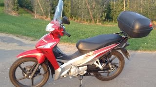 Honda Wave 110i Top Speed Acceleration Walk Around Soundcheck Innova 125
