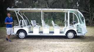 23 Passenger Electric Shuttle Bus from Moto Electric Vehicles- GOPRO-Drone