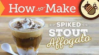 How To Make Affogato With Spiked Stout (coffee Recipe)