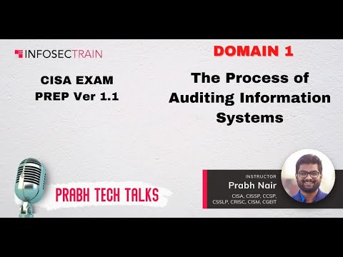 Download CISA Domain 1 The Process of Auditing Information Systems Part 1.1 Review