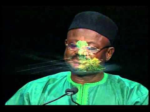 2004 Goldman Environment Prize Ceremony: acceptance speech Rudolf Amenga Etego