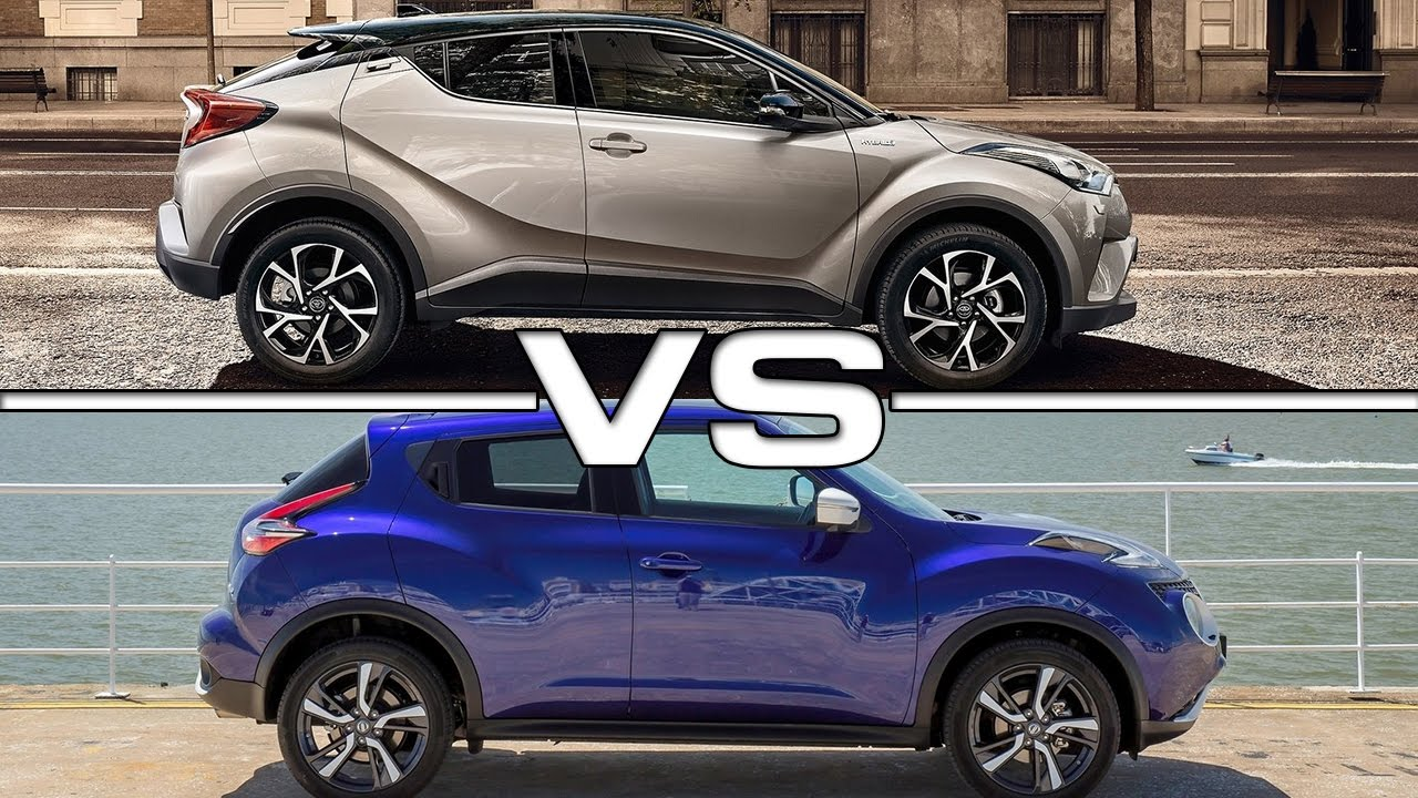 2017 Toyota C Hr Vs Nissan Juke Youtube