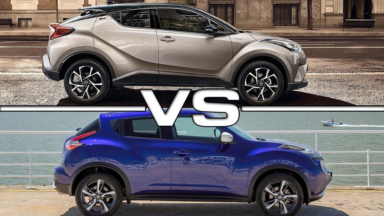 2017 Toyota C-HR vs Nissan Juke - YouTube
