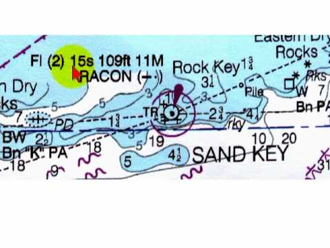 How To Read A Lighthouse On A Nautical Chart Youtube