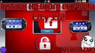 Hack H-encore² para PSVita 3.71 y 3.72