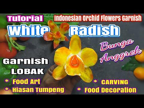Garnish Tumpeng Bunga