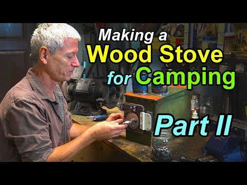 A Woodstove for Camping Part 2 - Starting the Build