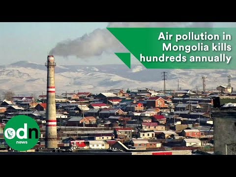 Air pollution in Mongolia kills hundreds annually