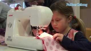 Kinder-Kultur der FZ: Mit wenigen Handgriffen eine bunte Tasche nähen
