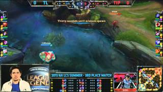 Dominate thoughts on TiP Rush - Game 1 TL vs TiP - Madison Sqaure Garden - League of Legends
