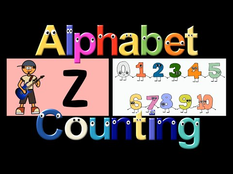 Alphabet & Counting Collection - ABC's & 123's, ABC Song - The Kids' Picture Show