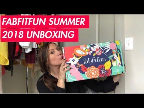 FABFITFUN SUMMER 2018 UNBOXING HAUL / REVIEW | Tia Lynn
