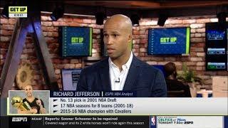 GET UP   Richard Jefferson SHOCKED by Kawhi & Clippers win season opener vs LeBron & Lakers