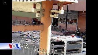 Nổ bom ở Philippines (VOA)