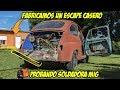 FABRICAMOS  ESCAPE CASERO para FIAT 600 + Proyecto FORD A (LLANTAS) - Radialero Team
