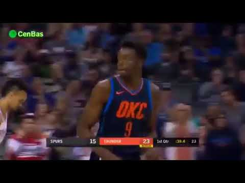 San Antonio Spurs vs Oklahoma City Thunder - Full Game Highlights - Dec 3 - 2017-18 NBA Season