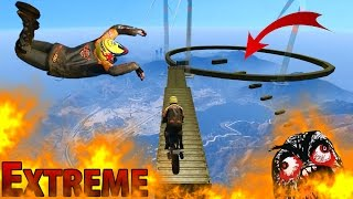EXTREME BIKE CHALLENGE (Gta 5 Funny Moments)