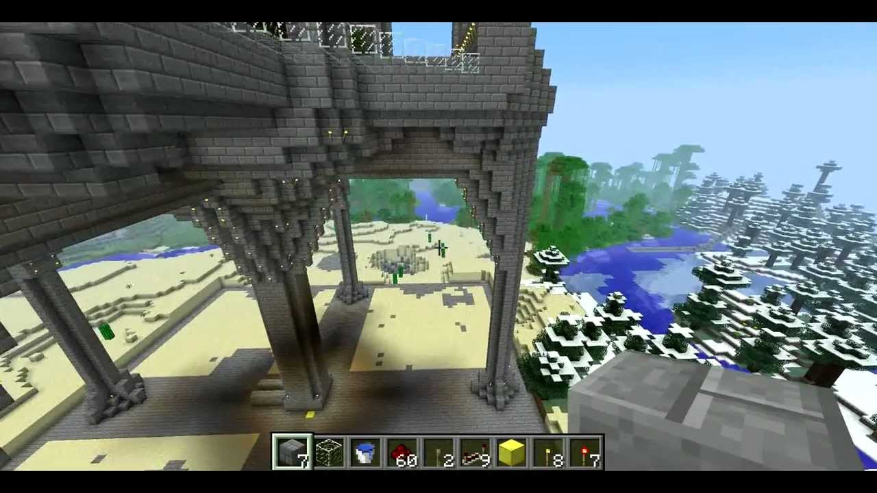 Minecraft arcology project part 3 struts and area flattening minecraft arcology project part 3 struts and area flattening voltagebd Images