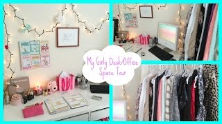 Tumblr Inspired Desk + Office Space Tour!