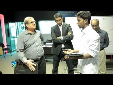 KM Chandrasekhar.Ex Cabinet Secretary, Govt of India. At  Startup Village