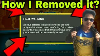 How to Remove Final Warning from 🎱8bp🎱 / New Method
