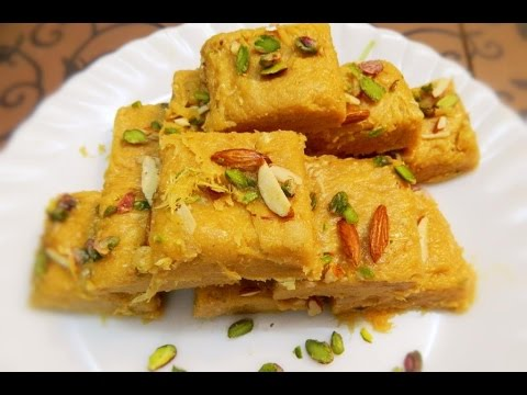 PATISA/Soan Papdi an Indian sweet recipe  step by step Recipe by Khana Manpasand