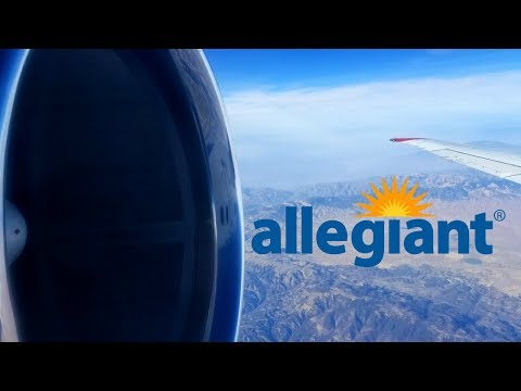 Flight on an Allegiant MD-83 (SMX-LAS), ex-SAS DC-9-81