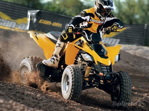 Can-am DS 250 - YouTube