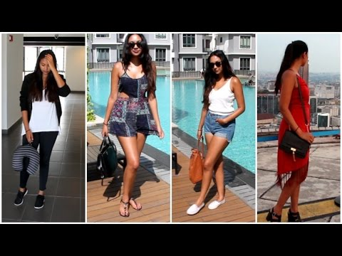 Vacation Outfit Ideas / Summer Holiday Lookbook