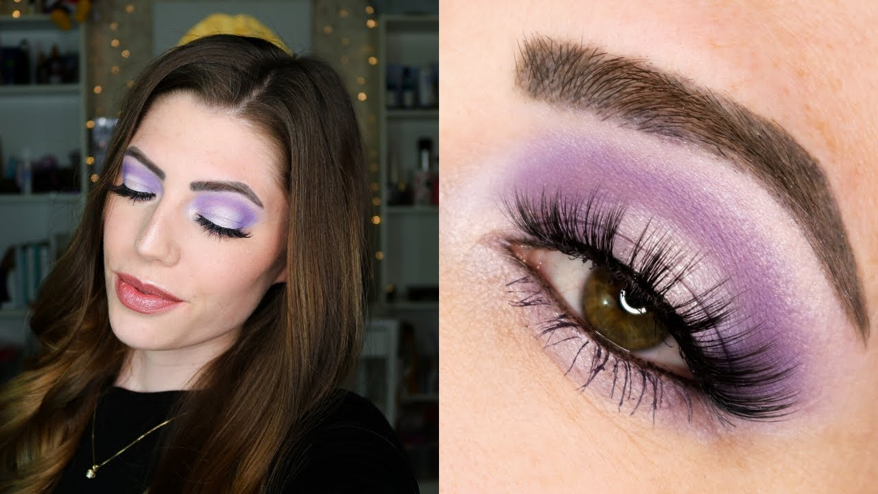 Purple Halo EyeShadow Look on Hooded Eyes | ShadowSense Tutorial