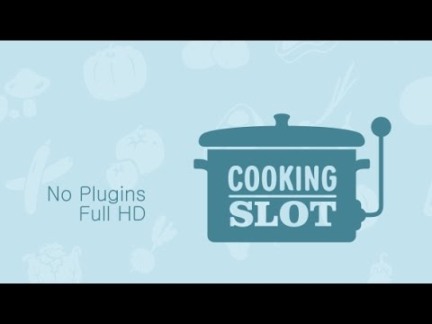 Cooking Slot Logo Intro | After Effects template