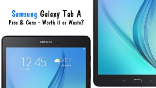 Samsung Galaxy Tab A - Pros and Cons (Worth it or Waste?)​​​ | H2TechVideos​​​