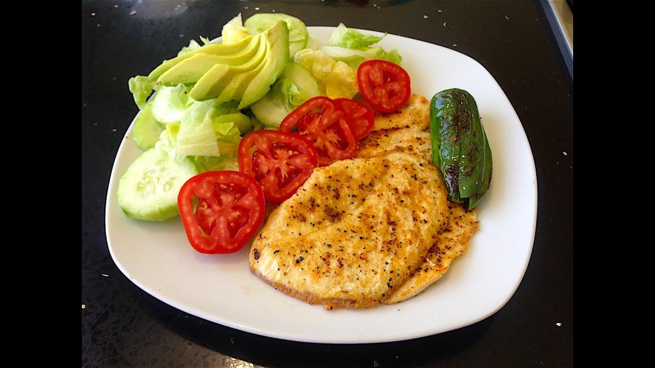 Pechugas de pollo a la plancha facil y rapido youtube Plato rapido y facil de preparar
