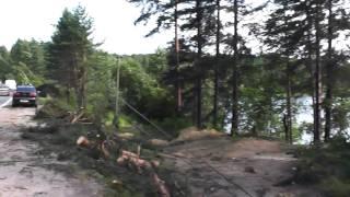 Сосново 30.07.2010 — Последствия урагана ч.1(Автор видео: Дмитрий Новеньков., 2010-08-11T22:13:26.000Z)