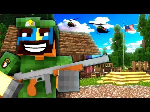WELCOME TO 'NAM! (EPIC ARMY BASE!) - NAMCRAFT - 1 - (Minecraft Vietnam War Roleplay)