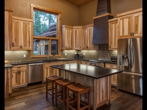 kitchen colors with hickory cabinets youtube on kitchen design ideas photos and videos hgtv id=58637