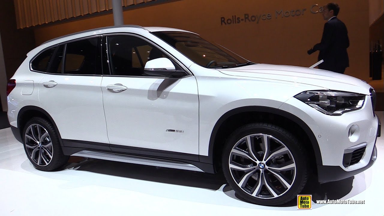 2016 bmw x1 xdrive 25i exterior and interior walkaround. Black Bedroom Furniture Sets. Home Design Ideas