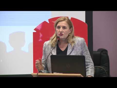 """First Deputy Governor, Bank of Albania, Ms """"Elisabeta Gjoni"""""""